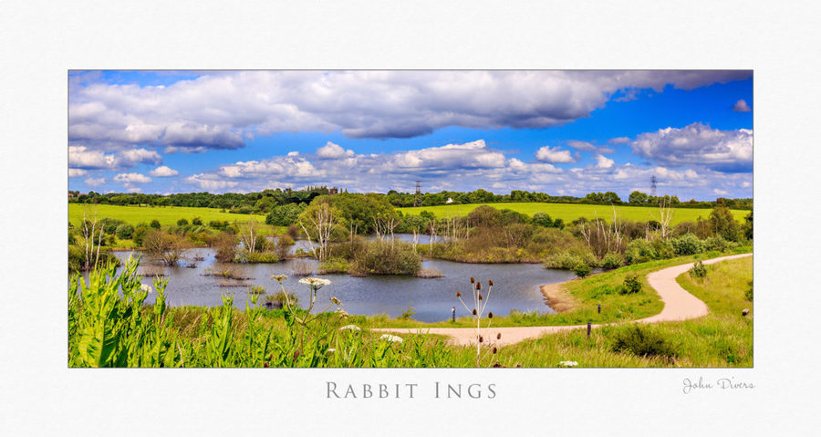 Landscape photography, Art image, Rabbit Ings, South Yorkshire